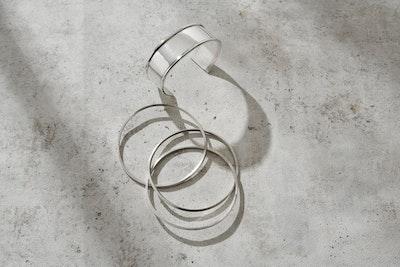 Nessie Jane Designs Reflections on Still Water Cuff