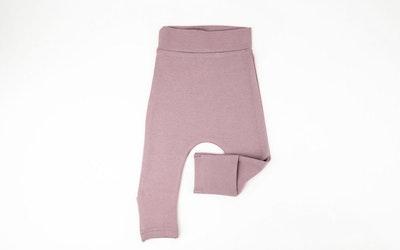 Toe Cover Harem Pants - Mauve