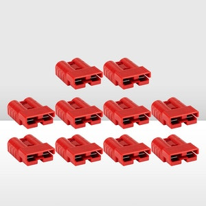 10x 50AMP Anderson Style Plug Red