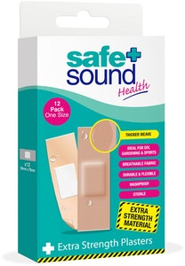 Safe + Sound Extra Strength Plasters 12pack