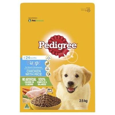 Pedigree Puppy Chicken & Rice 2.5kg