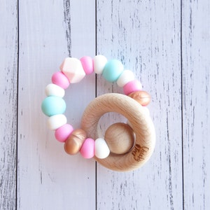 Cheeky Toes™ Cheeky RATTLE Teething Toy I MERMAID Collection