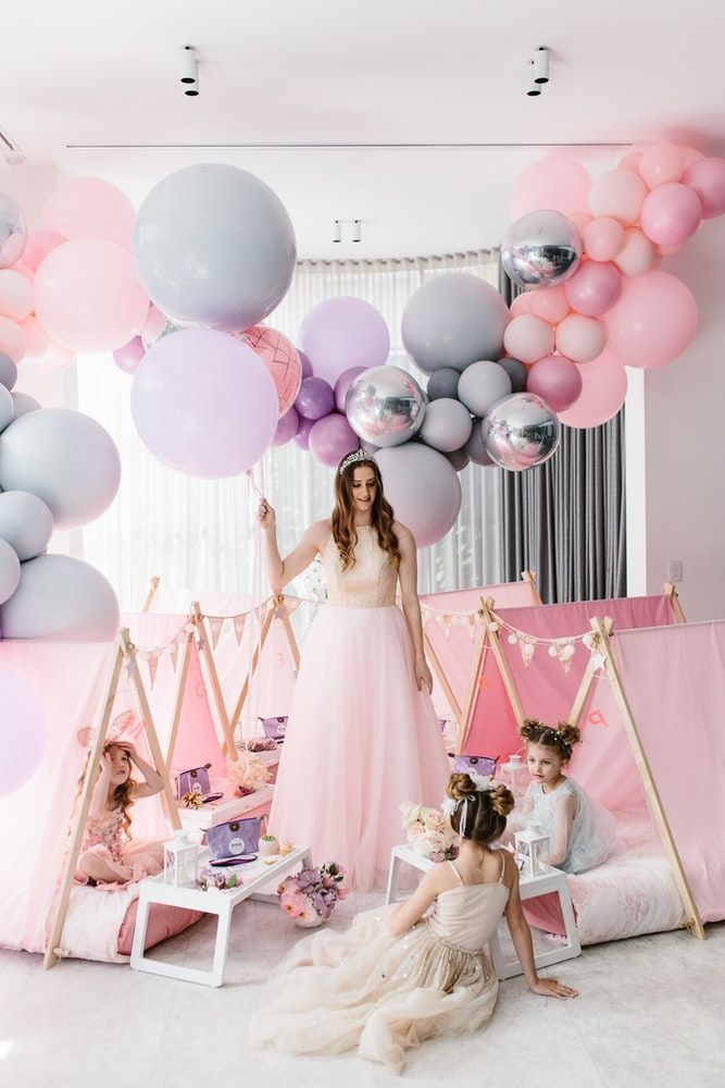 Fairy Princess Party Sleepover Teepee