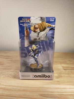 Sheik Amiibo Smash Bros