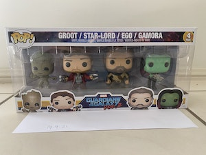 Guardians of the Galaxy 2 4 Pack - Ego, Gamora, Star-Lord, Groot