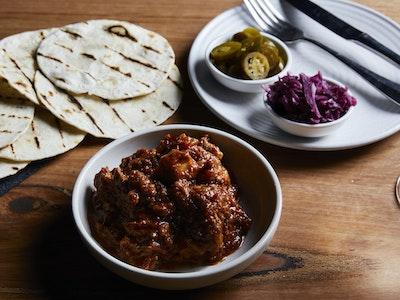 Cochinita pibil pulled pork tacos (4 pieces)