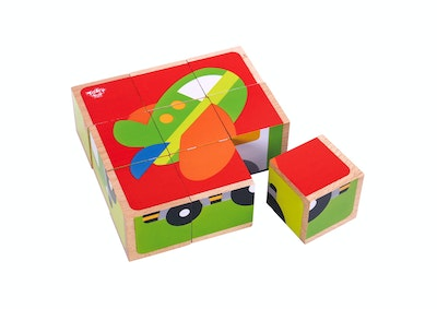 Tooky Toy TRAFFIC BLOCK PUZZLE