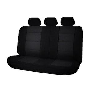 Universal Premium Rear Seat Covers Size 06/08S | Black