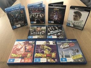 Various Blu-ray & 4k Movies/Series