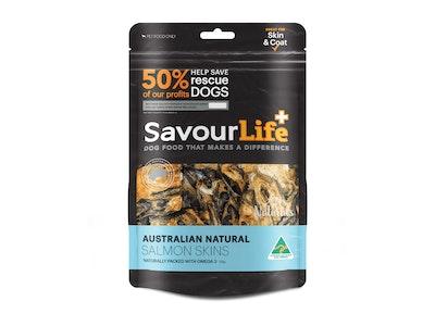 SavourLife Australian Salmon Skins 125g