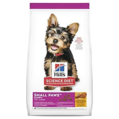 Hills Hill's Science Diet Puppy Small Paws Dry Dog Food 1.5kg