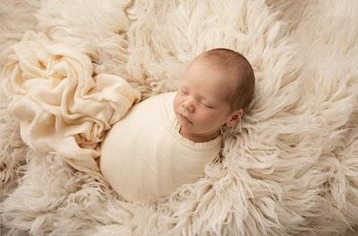 Bubba Bump Baby Buttercup Bamboo Muslin Wrap