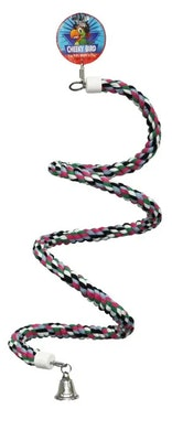 Cheeky Bird Spiral Rope Perch 165cm B0887
