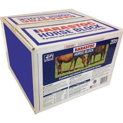 Barastoc Horse Block Protein and Mineral Supplement 20kg