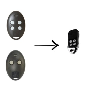 Remote Pro BFT Mitto Compatible Remote