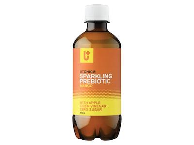 Utonic Beverages Sparkling Prebiotic Mango 12 x 350ml