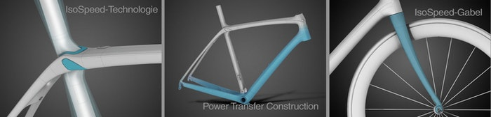 trek isospeed power transfer construction
