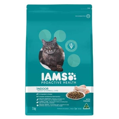 Iams Indoor Weight & Hairball Care with Chicken