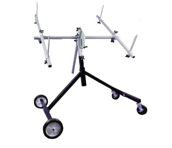 Rotating Body Panel Stand
