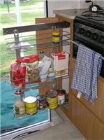Slide out pantry Jayco Discovery 068