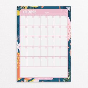 Magnet | Calendar - Confetti Design