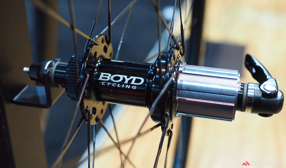 Boyd Cycling centerlock hubs InterBike 2016 CyclingTips 43082