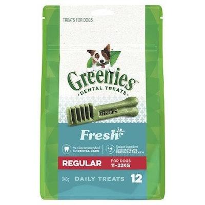 Greenies Freshmint Regular 340g