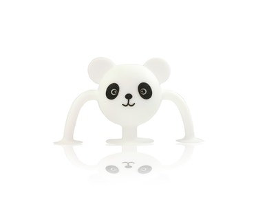 Silicone Suction Baby Bath Toys 1pk - Amanda Panda - Zoo Collection