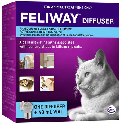 Feliway Fear & Stress Diffuser & Refill For Kittens & Cats 48ml