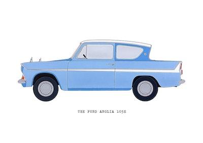 The Ford Anglia 105E