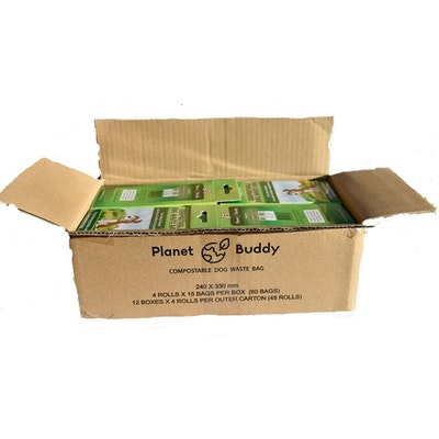 Planet Buddy Dog Waste Bags -12 boxes 720 bags