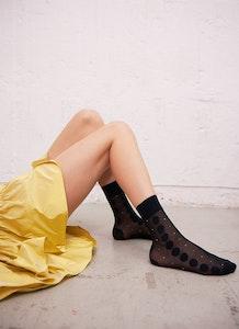 Swedish Stockings Viola Dot Socks