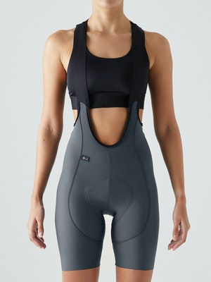 Givelo Grey Ultra High Density Bib Shorts