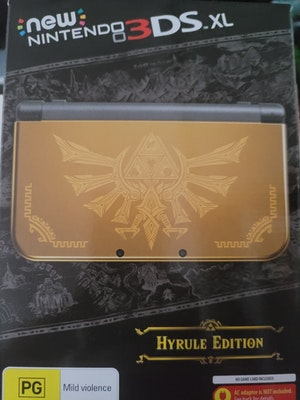 Legend of zelda hyrule edition New 3ds xl console brand new