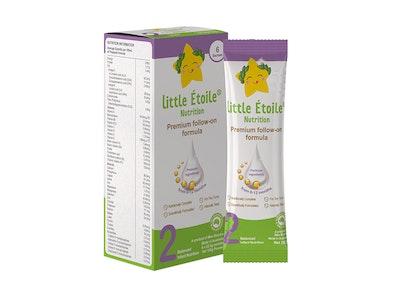 Max Biocare Little Etoile Nutrition - Premium Follow-on Formula Sachet - Stage 2 - 6 x 25.5g sachets