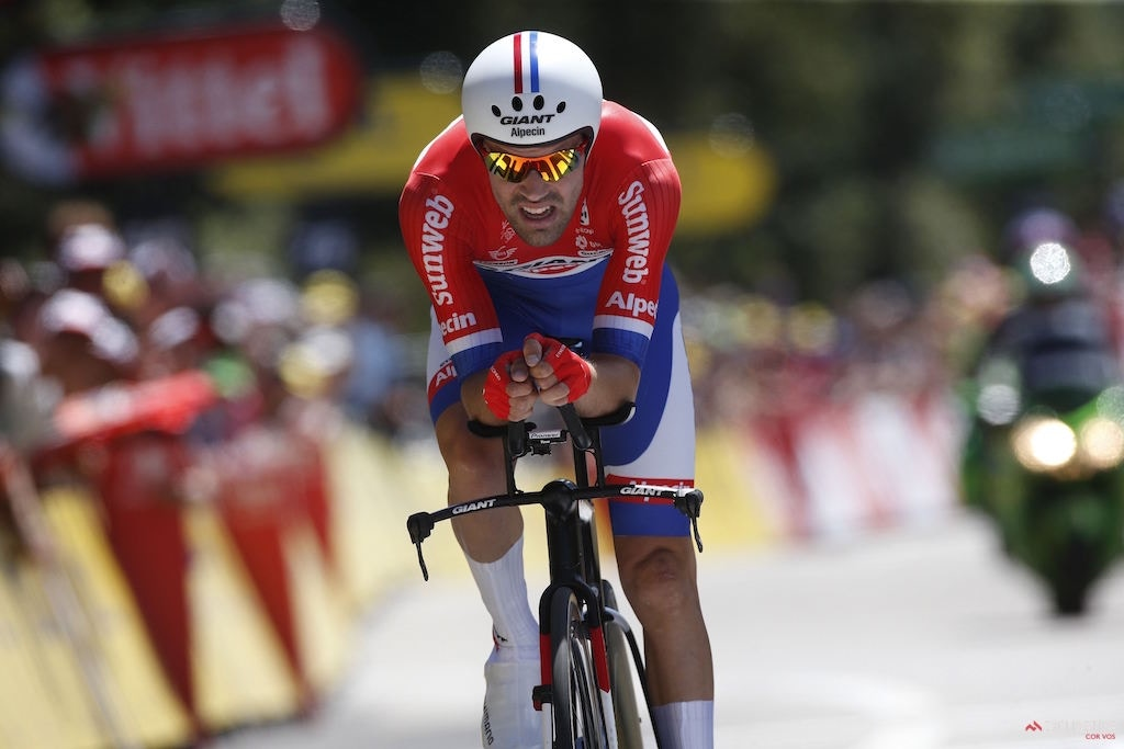 Dumoulin crushes Tour de France stage 13 TT