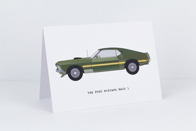 The Ford Mustang Mach 1