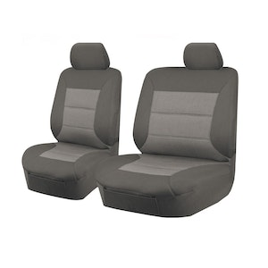Premium Car Seat Covers For Isuzu D-Max Series 2012-2016 Single Cab Chassis | Grey