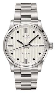 Mido Multifort Gent Silver - Stainless Steel - Stainless Steel Bracelet