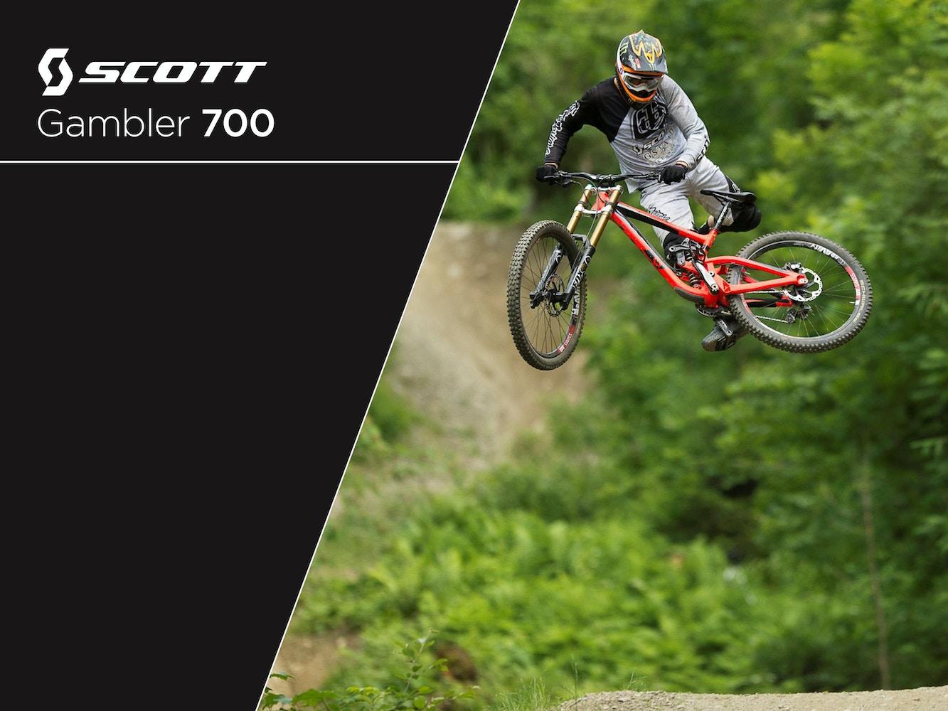 Scott Gambler 700 2015 - Der neue Downhill-Bolide von Scott
