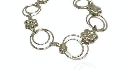 Continente Dorado Flor momposina  filigree bracelet