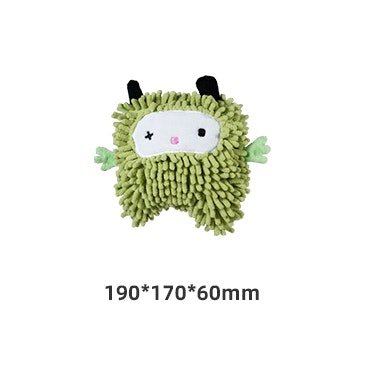 Honeycare Dog Squeaky Toy - Green Monster
