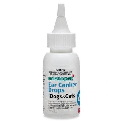 Aristopet Ear Canker Drops 50ml