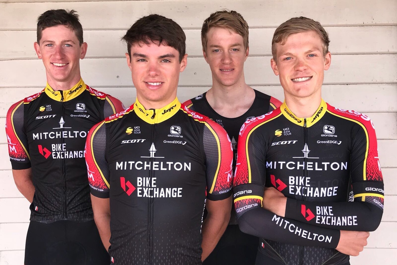 Mitchelton y BikeExchange se unen para patrocinar el nuevo equipo de ciclismo Continental