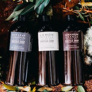 Bay Leaf & Cinnamon 1L Refill Castile Bottle