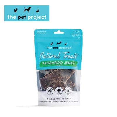 The Pet Project Natural Treats Kangaroo Jerky 100g