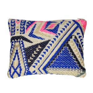 Global Sisters Shop Indie Pouches Blue - 12.5 x 9