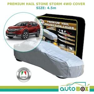 Autotecnica Premium Hail Stone Car Cover To Fit 4WD Audi Q2 Q3 Window Protection