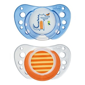 Chicco Latex Physio Air Soother 6-16M 2pk -Boy