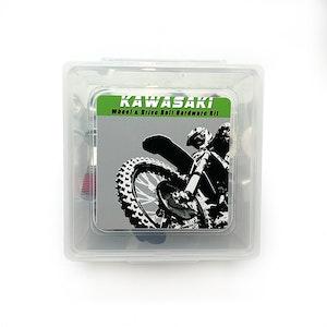 33PC Kawasaki Wheel & Drive Bolt Hardware Kit